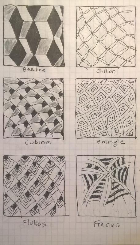 zentangle sample