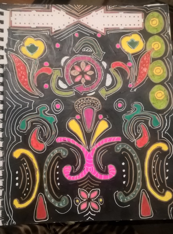 homemade coloring page