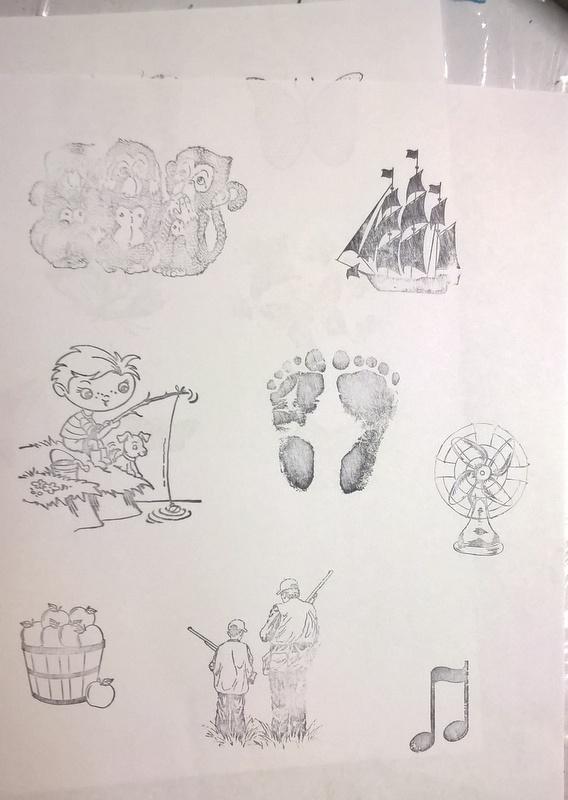 images of random stamped images